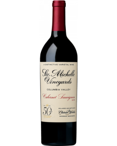 """Château Ste. Michelle, Cabernet Sauvignon """"50 Years"""" 2015, 75 cl."""