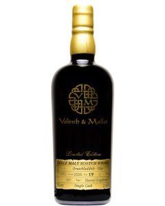 Valinch & Mallet, Bruichladdich 19 Y.O., 53,4% 70 cl.
