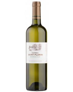 Château Saint Florin, Bordeaux Blanc 2020, 75 cl.