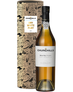 Churchill, White Port Dry Aperitif, 50 cl.