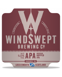 WindSwept Brewing - APA 33 cl