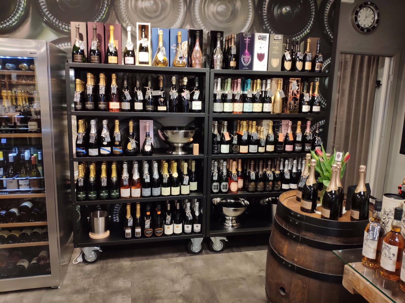 Champagne udvalg